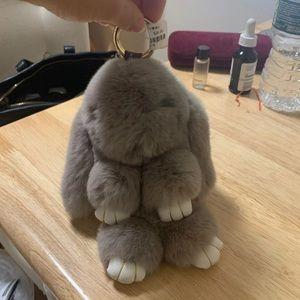 Brand new bunny keychain/charm